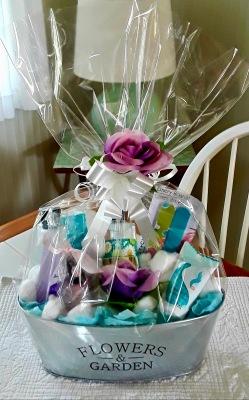 $12 Nail Care Gift Basket